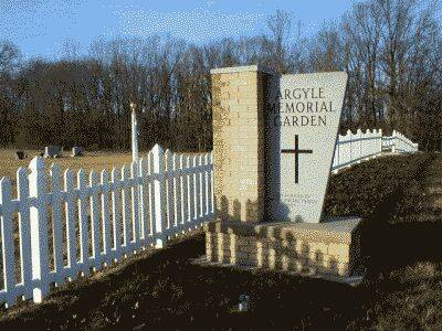 ARGYLE MEMORIAL GARDEN, CEMETERY - Lee County, Iowa | CEMETERY ARGYLE MEMORIAL GARDEN
