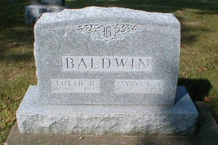 BALDWIN, LOTTIE B. - Lee County, Iowa | LOTTIE B. BALDWIN