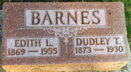 BARNES, EDITH LULU - Lee County, Iowa | EDITH LULU BARNES