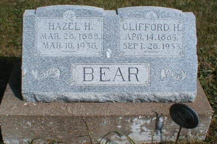 BEAR, CLIFFORD H. - Lee County, Iowa | CLIFFORD H. BEAR
