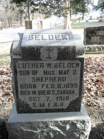 BELDON, LUTHER W. - Lee County, Iowa | LUTHER W. BELDON