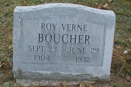 BOUCHER, ROY VERNE - Lee County, Iowa | ROY VERNE BOUCHER