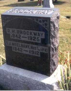 BROCKWAY, SARAH JANE - Lee County, Iowa | SARAH JANE BROCKWAY
