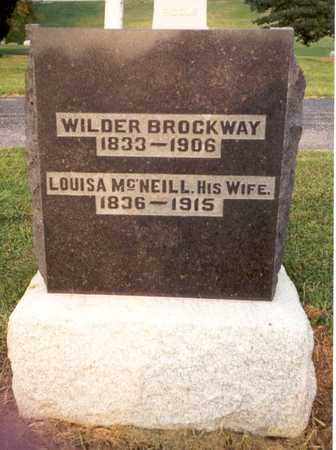 BROCKWAY, WILDER - Lee County, Iowa | WILDER BROCKWAY