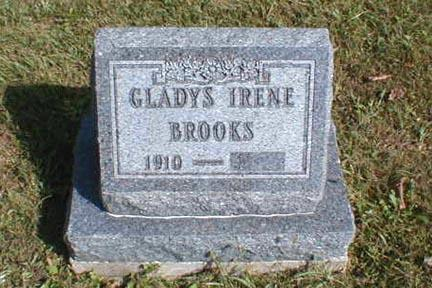 BROOKS, GLADYS IRENE - Lee County, Iowa | GLADYS IRENE BROOKS