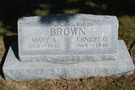 BROWN, ERNEST G. - Lee County, Iowa | ERNEST G. BROWN