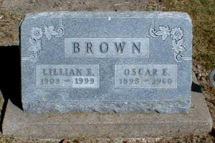 BROWN, OSCAR E. - Lee County, Iowa | OSCAR E. BROWN