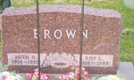 BROWN, RUTH - Lee County, Iowa | RUTH BROWN