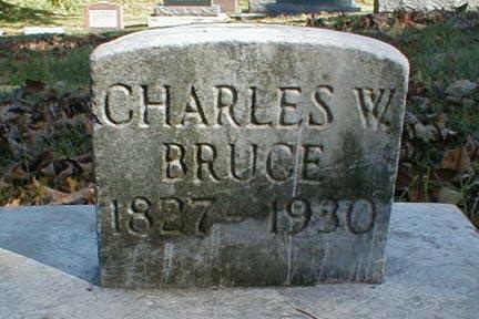 BRUCE, CHARLES W. - Lee County, Iowa | CHARLES W. BRUCE