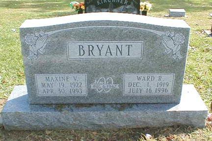 BRYANT, MAXINE V. - Lee County, Iowa | MAXINE V. BRYANT