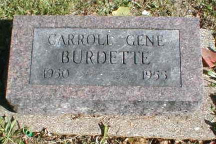 BURDETTE, CAROLL GENE - Lee County, Iowa | CAROLL GENE BURDETTE