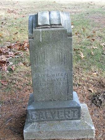 CALVERT, OLIVE - Lee County, Iowa | OLIVE CALVERT