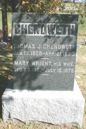 CHENOWETH, MARY - Lee County, Iowa | MARY CHENOWETH