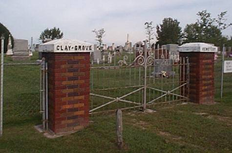 CLAY GROVE, CEMETERY - Lee County, Iowa | CEMETERY CLAY GROVE