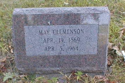 CLEMENSON, MAY - Lee County, Iowa | MAY CLEMENSON