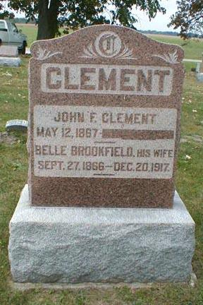 CLEMENT, BELLE - Lee County, Iowa | BELLE CLEMENT