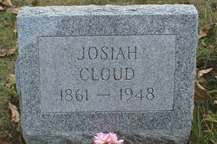 CLOUD, JOSIAH - Lee County, Iowa   JOSIAH CLOUD