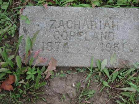 COPELAND, ZACHARIAH - Lee County, Iowa | ZACHARIAH COPELAND