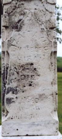 TAYLOR COURTRIGHT, ELIZA W. - Lee County, Iowa   ELIZA W. TAYLOR COURTRIGHT