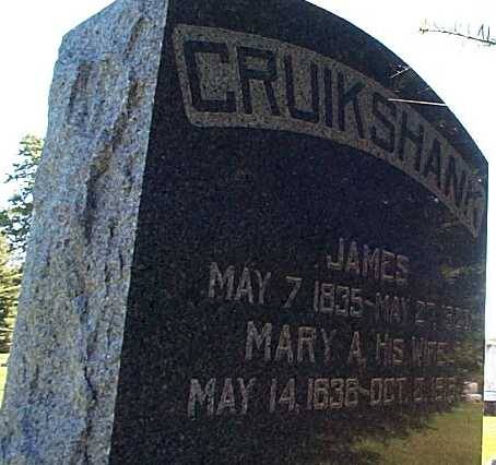 CRUIKSHANK, JAMES & MARY - Lee County, Iowa | JAMES & MARY CRUIKSHANK