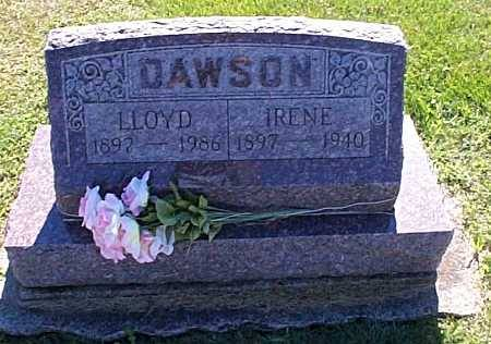 DAWSON, LLOYD & IRENE - Lee County, Iowa | LLOYD & IRENE DAWSON