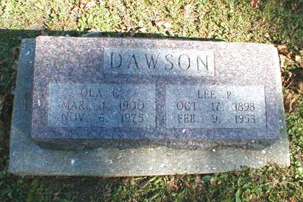 DAWSON, LEE R. - Lee County, Iowa | LEE R. DAWSON