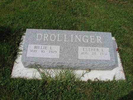 DROLLINGER, ESTHER - Lee County, Iowa | ESTHER DROLLINGER