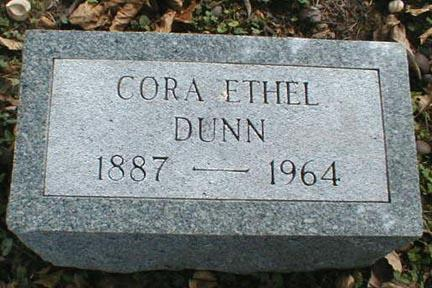DUNN, CORA ETHEL - Lee County, Iowa | CORA ETHEL DUNN