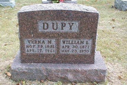 DUPY, WILLIAM L. - Lee County, Iowa | WILLIAM L. DUPY