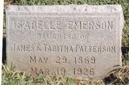 EMERSON, ISABELLE - Lee County, Iowa | ISABELLE EMERSON