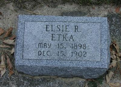 ETKA, ELSIE - Lee County, Iowa | ELSIE ETKA
