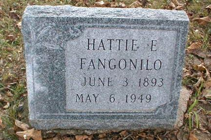 FANGONILO, HATTIE E. - Lee County, Iowa | HATTIE E. FANGONILO