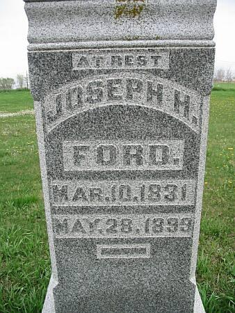FORD, JOSEPH H. - Lee County, Iowa | JOSEPH H. FORD