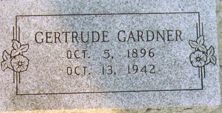 GARDNER, GERTRUDE - Lee County, Iowa | GERTRUDE GARDNER