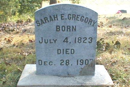 GREGORY, SARAH E. - Lee County, Iowa | SARAH E. GREGORY
