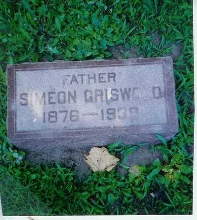 GRISWOLD, SIMEON - Lee County, Iowa | SIMEON GRISWOLD
