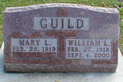GUILD, WILLIAM L. - Lee County, Iowa | WILLIAM L. GUILD