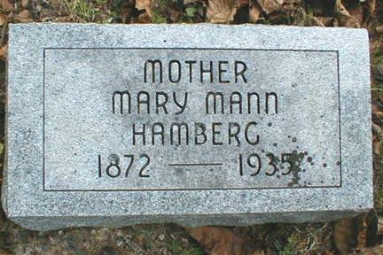 MANN HAMBERG, MARY - Lee County, Iowa | MARY MANN HAMBERG