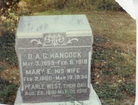 HANCOCK, MARY E. - Lee County, Iowa | MARY E. HANCOCK