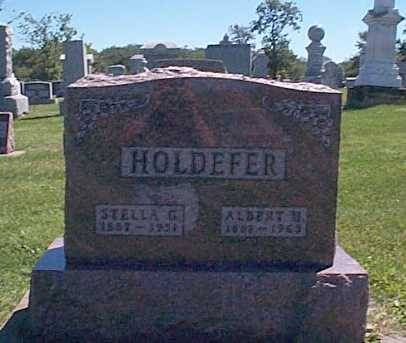 HOLDEFER,, STELLA G. & ALBERT H. - Lee County, Iowa | STELLA G. & ALBERT H. HOLDEFER,