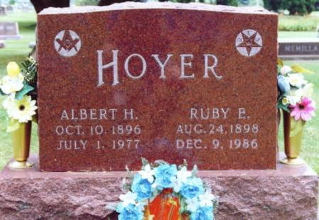HOYER, ALBERT H. - Lee County, Iowa | ALBERT H. HOYER