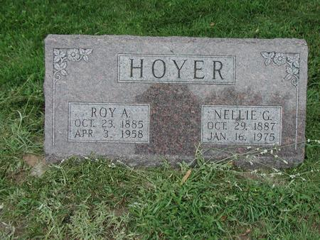 HOYER, NELLIE - Lee County, Iowa | NELLIE HOYER
