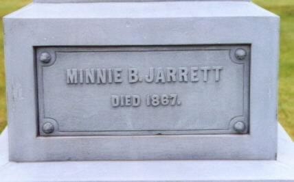 JARRETT, MINNIE BELL - Lee County, Iowa | MINNIE BELL JARRETT