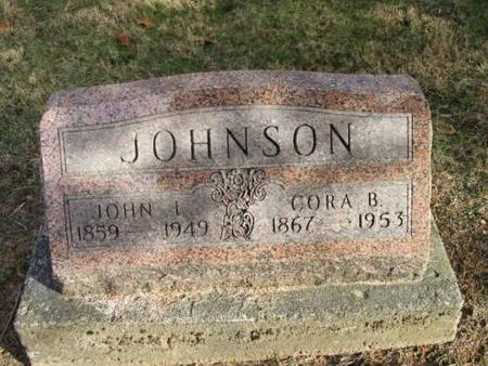 JOHNSON, JOHN L. & CORA B. - Lee County, Iowa | JOHN L. & CORA B. JOHNSON