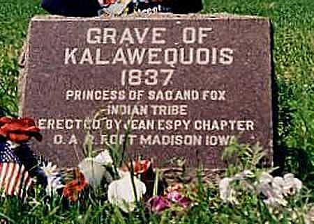 KALAWEQUOIS, PRINCESS - Lee County, Iowa | PRINCESS KALAWEQUOIS