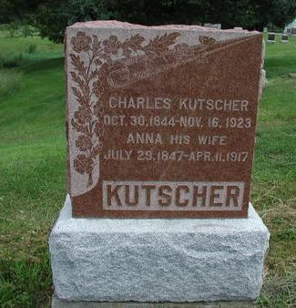LICHTI KUTSCHER, ANNA - Lee County, Iowa | ANNA LICHTI KUTSCHER