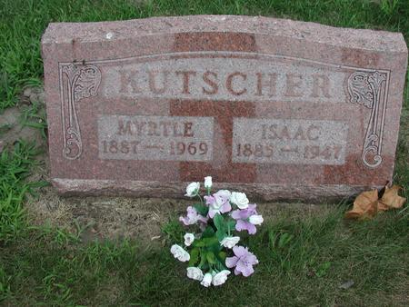 KUTSCHER, MYRTLE - Lee County, Iowa | MYRTLE KUTSCHER