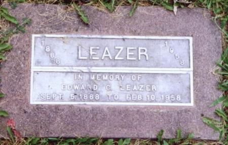 LEAZER, EDWARD C. - Lee County, Iowa | EDWARD C. LEAZER