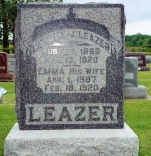 LEAZER, LEROY J. - Lee County, Iowa | LEROY J. LEAZER