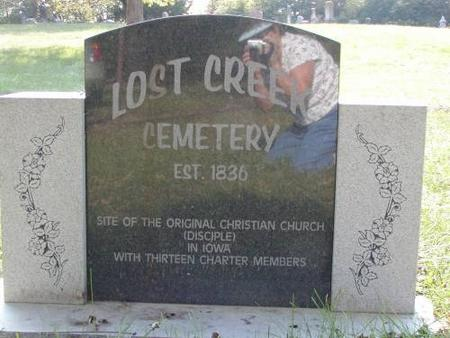 LOST CREEK, CEMETERY - Lee County, Iowa | CEMETERY LOST CREEK